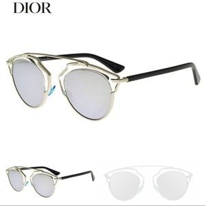 Dior So Real mirrored lens sunglasses
